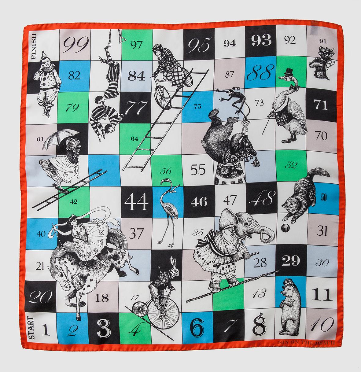 Circus 1 scarf