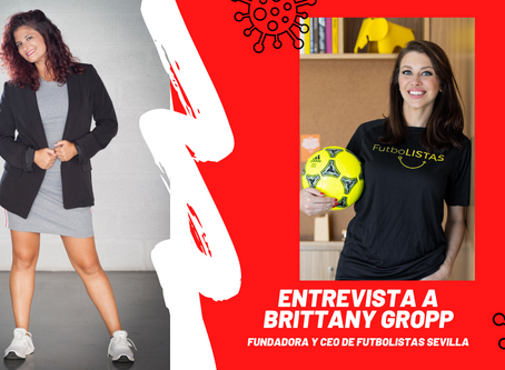Entrevista a Brittany Gropp de FutboLISTAS