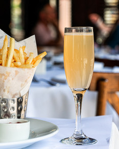 Mimosa and Golden Fries