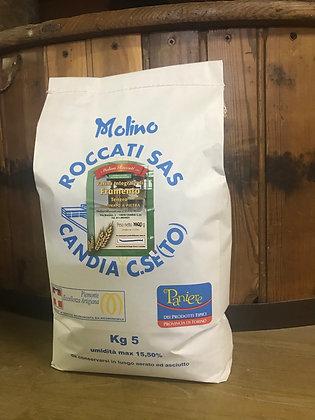 Farina di Frumento Integrale Macinata a Pietra (5 Kg.)