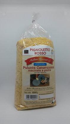 Farina di Mais Pignoletto Rosso Macinata a Pietra (1 Kg.)