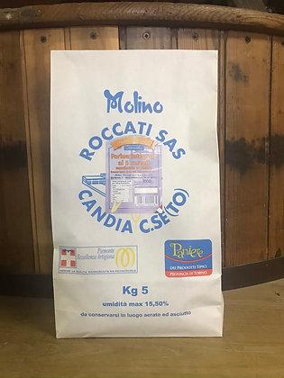 Farina Integrale ai 5 Cereali Macinata a Pietra (5 Kg.)