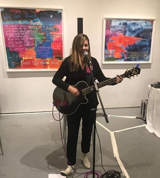 Jill on Guitar
