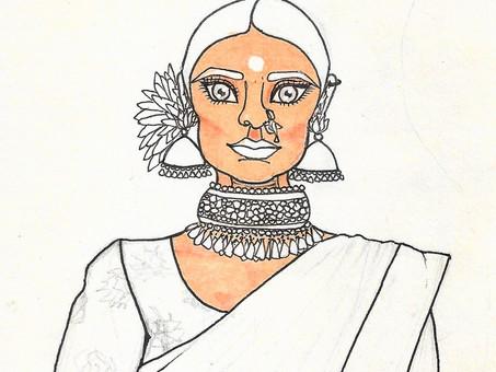 Ayush kejriwal potrait series
