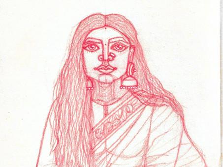 Ayush kejriwal potrait series.