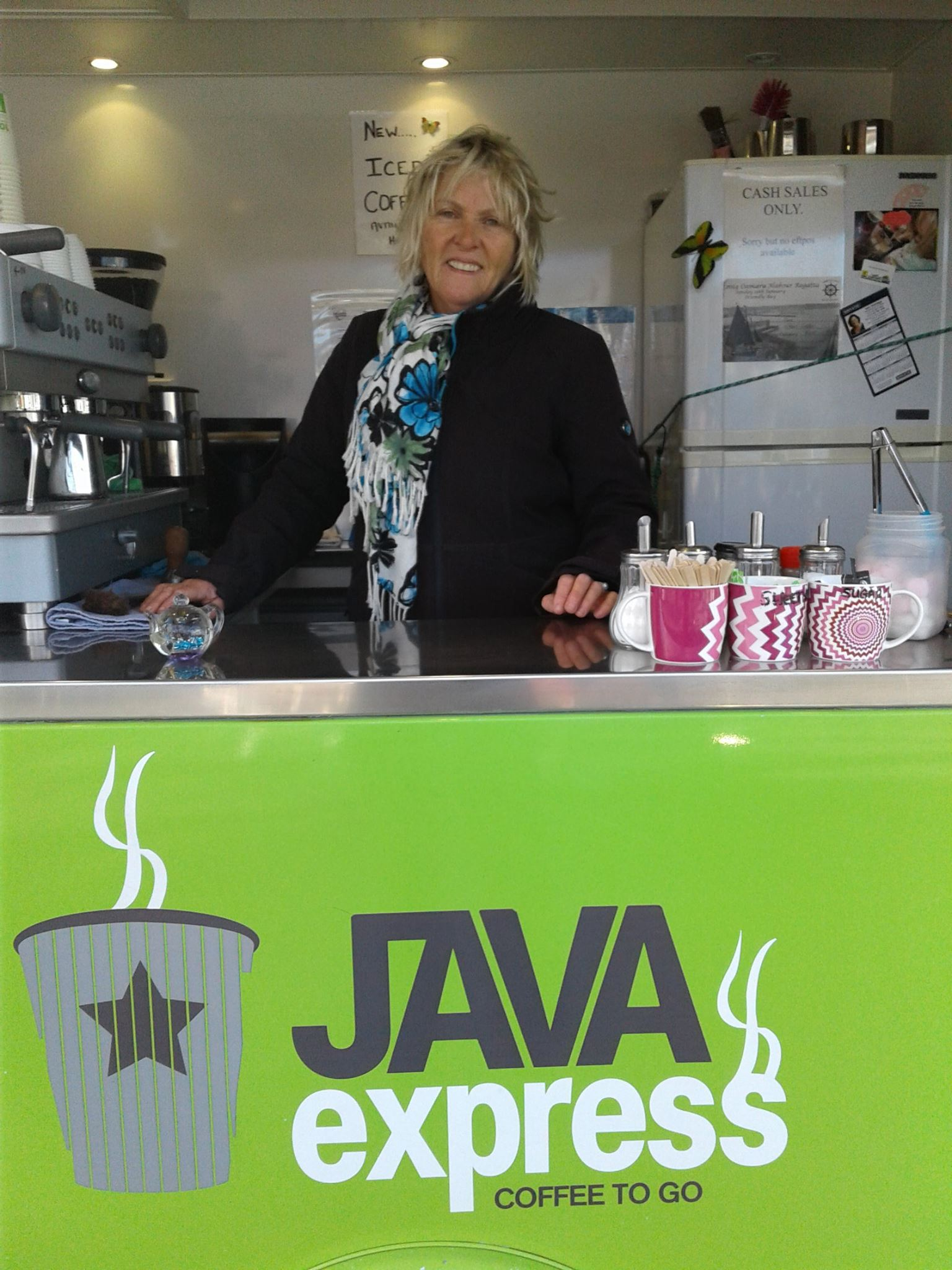 Sue's Java Express