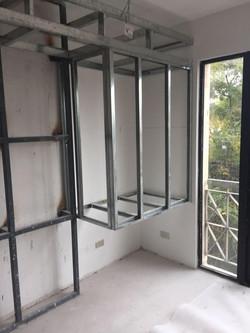 instalación estructuras de metalcón