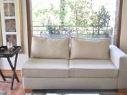 Sofa 2 cuepor sin brazo izquiero