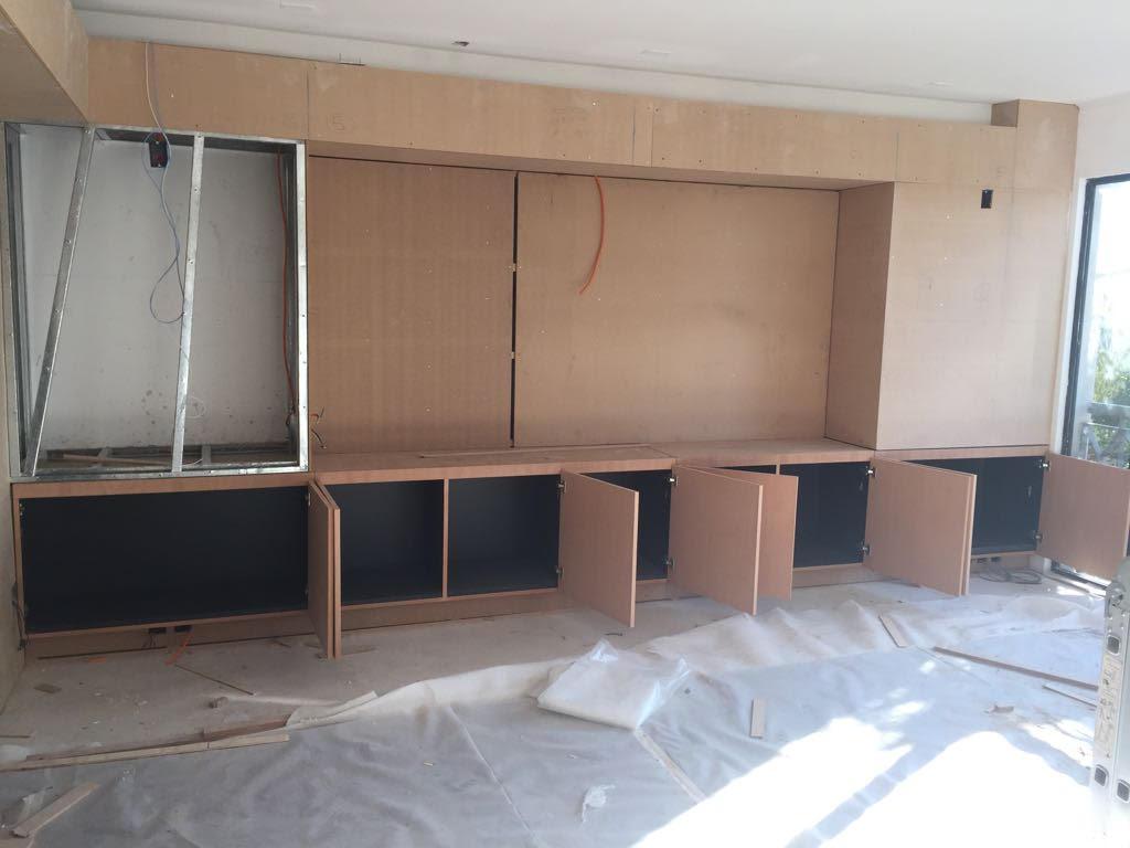 Instalación mueble inferior