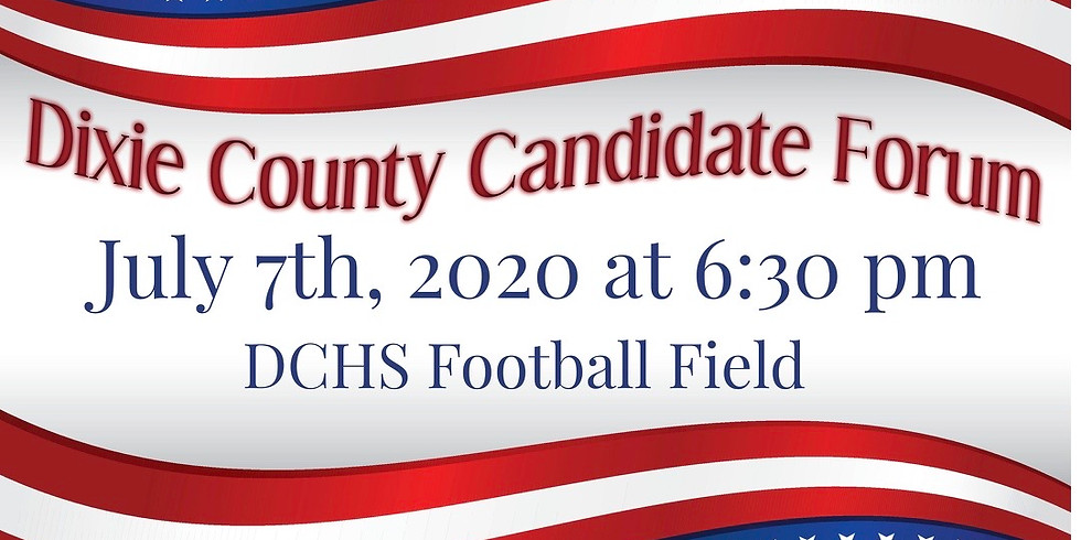 Dixie County Candidate Forum