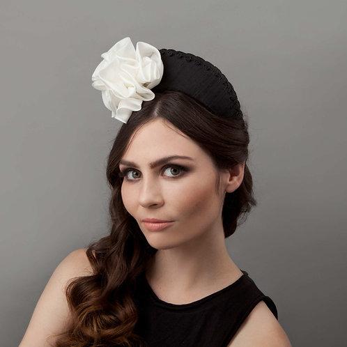 Women's black headband - Kiyomi - as worn by HRH Princess Beatrice