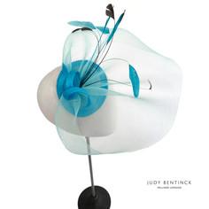 Make Your Own Fascinator Kit - Superior DIY Turquoise Fascinator Kit by milliner Judy Bent