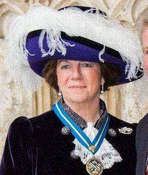 Countess Bathurst, High Sheriff of Gloucestershire