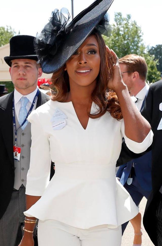 Alexandra Burke at Royal Ascot  2018