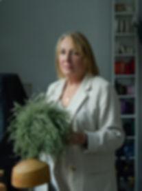 Judy Bentinck Milliner-Portrait by Danie