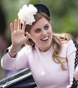 Princess Beatrice at the Trooping of