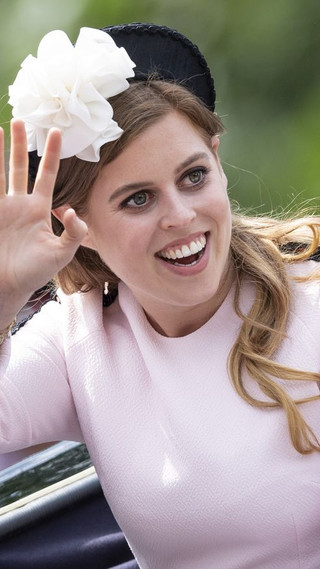 Princess Beatrice at Trooping the Colour 2019