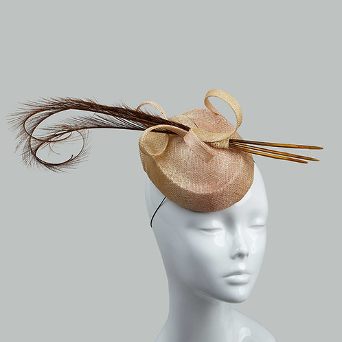 Women's ombre cocktail hat - Ayumi