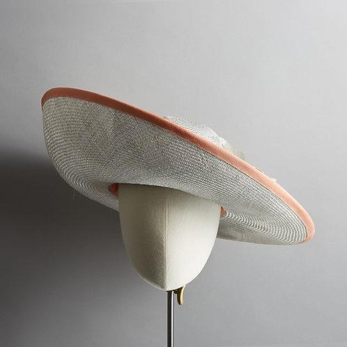 Women's large silver/grey hat - Sophia