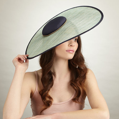 Elegant large brim hat - Victoria, by Judy Bentinck