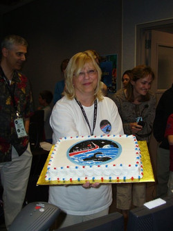 Terry and the NEEMO 9 halfway celebration cake-1