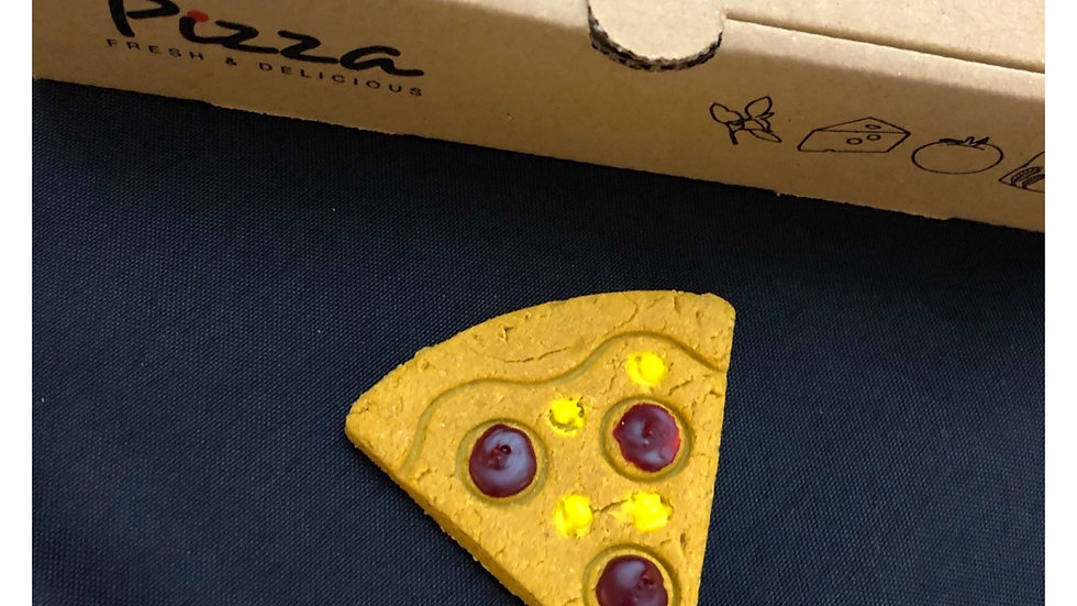 Pupperoni Pizza Slice