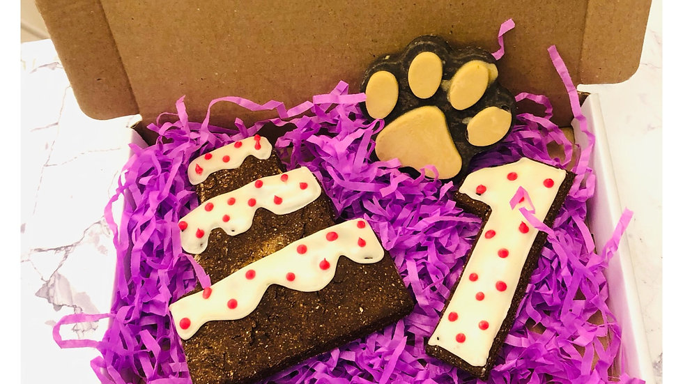 Pink Pawty Cookie Box