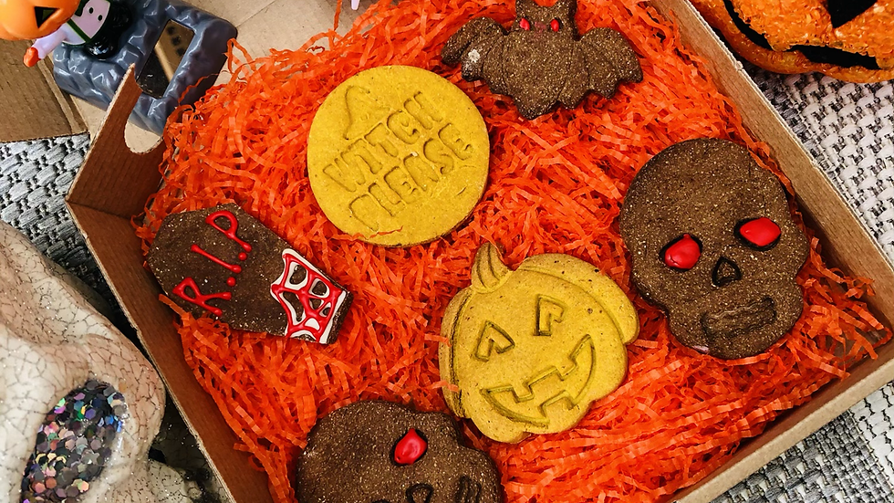 Spooky Cookie Box