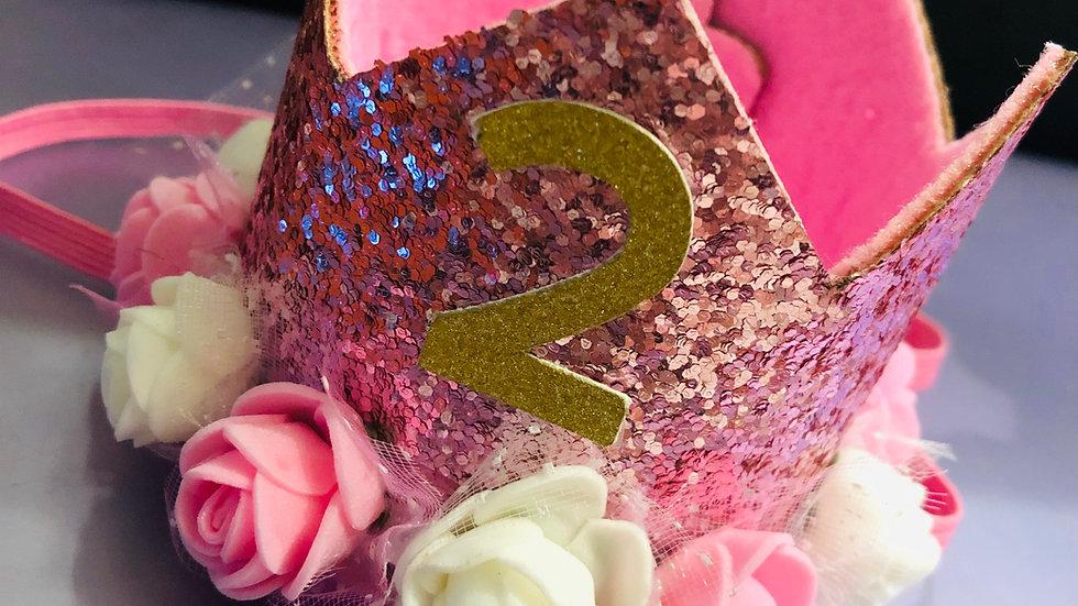 Princess Sparkle Flower Crown