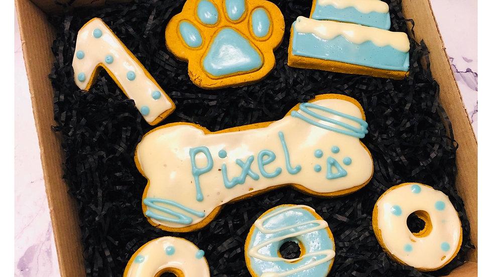Birthday Pawty Cookie Box