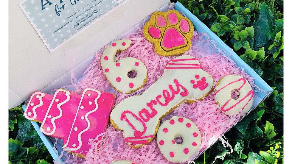 Birthday Cake Cookie Box