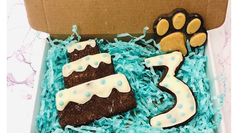 Blue Pawty Cookie Box