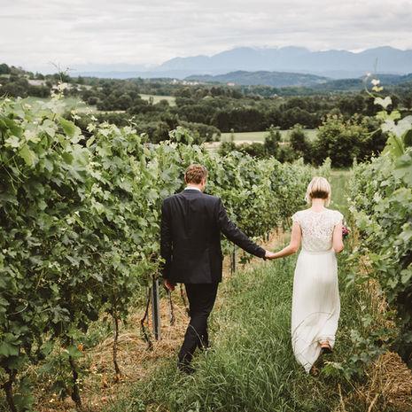 Hochzeit im Weingut Hochzeitsreportage Hochzeitsfotograf Kärnten Österreich