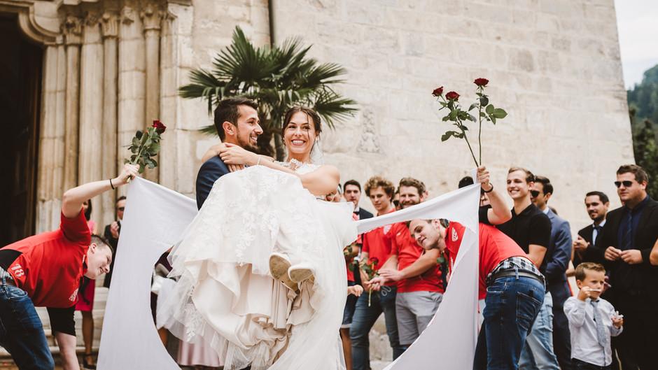 Heiraten im Stift St. Paul, Hochzeit Kulturstadl Maria Rojach Kärnten | Meli & Richi