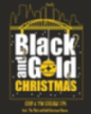 black and gold christmas square CHORUS 3
