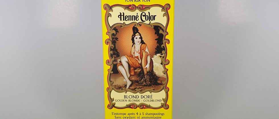 HENNE COLOR BLOND DORE