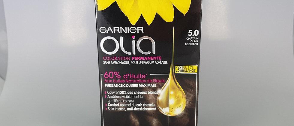 GAR OLIA CHATAIN CLAIR FONDANT 5.0
