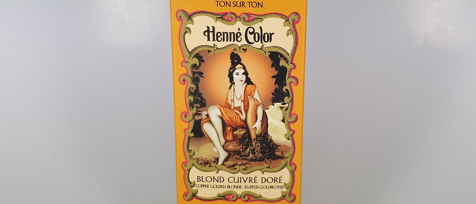 HENNE COLOR BLOND CUIVRE DORE