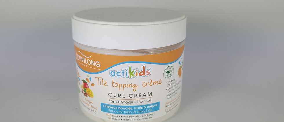 ACT TOPPING CREAM ACTIKIDS