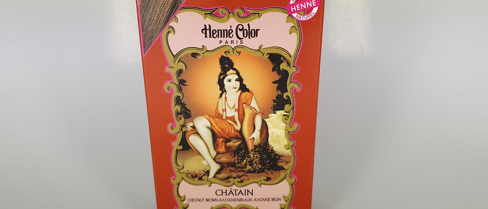 HENNE COLOR POUDRE CHATAIN