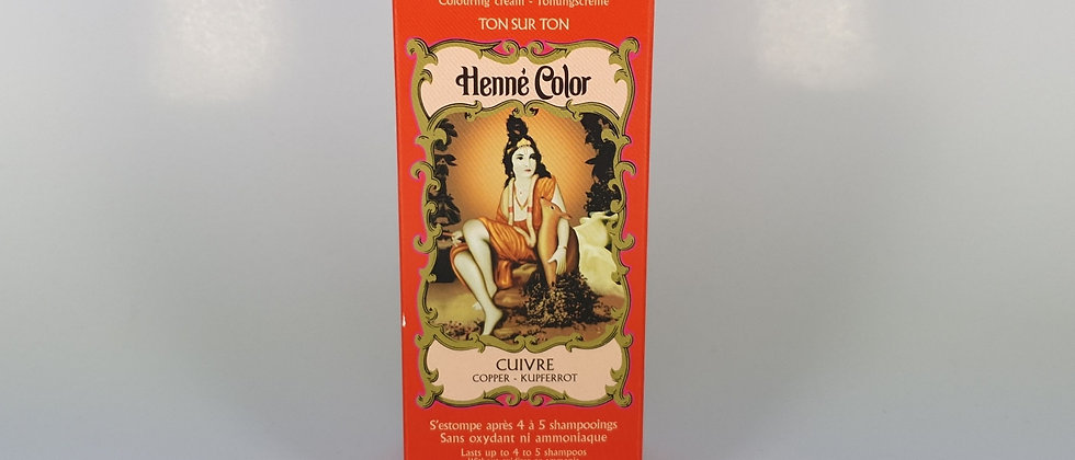 HENNE COLOR CUIVRE