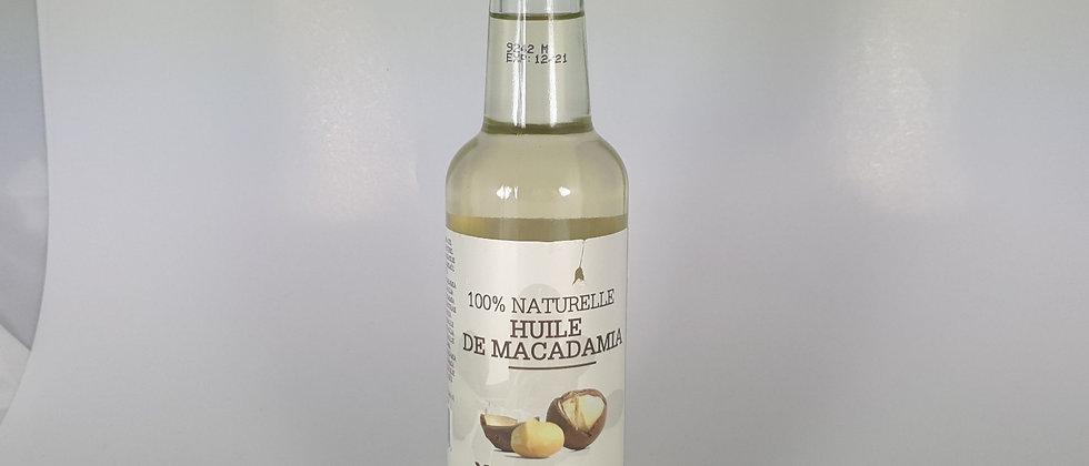 YARI HUILE DE MACADAMIA 100%