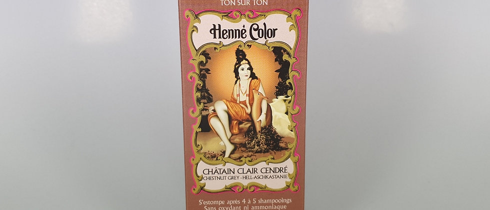 HENNE COLOR CHATAIN CLAIR CENDRE