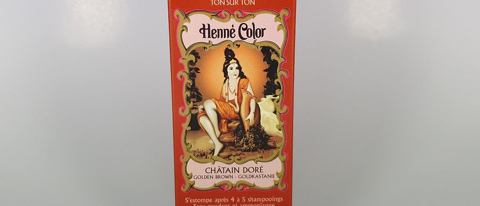 HENNE COLOR CHATAIN DORE