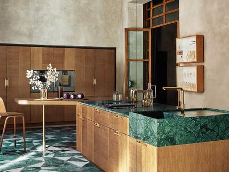 Новая кухня Intarsio от фабрики Cesar