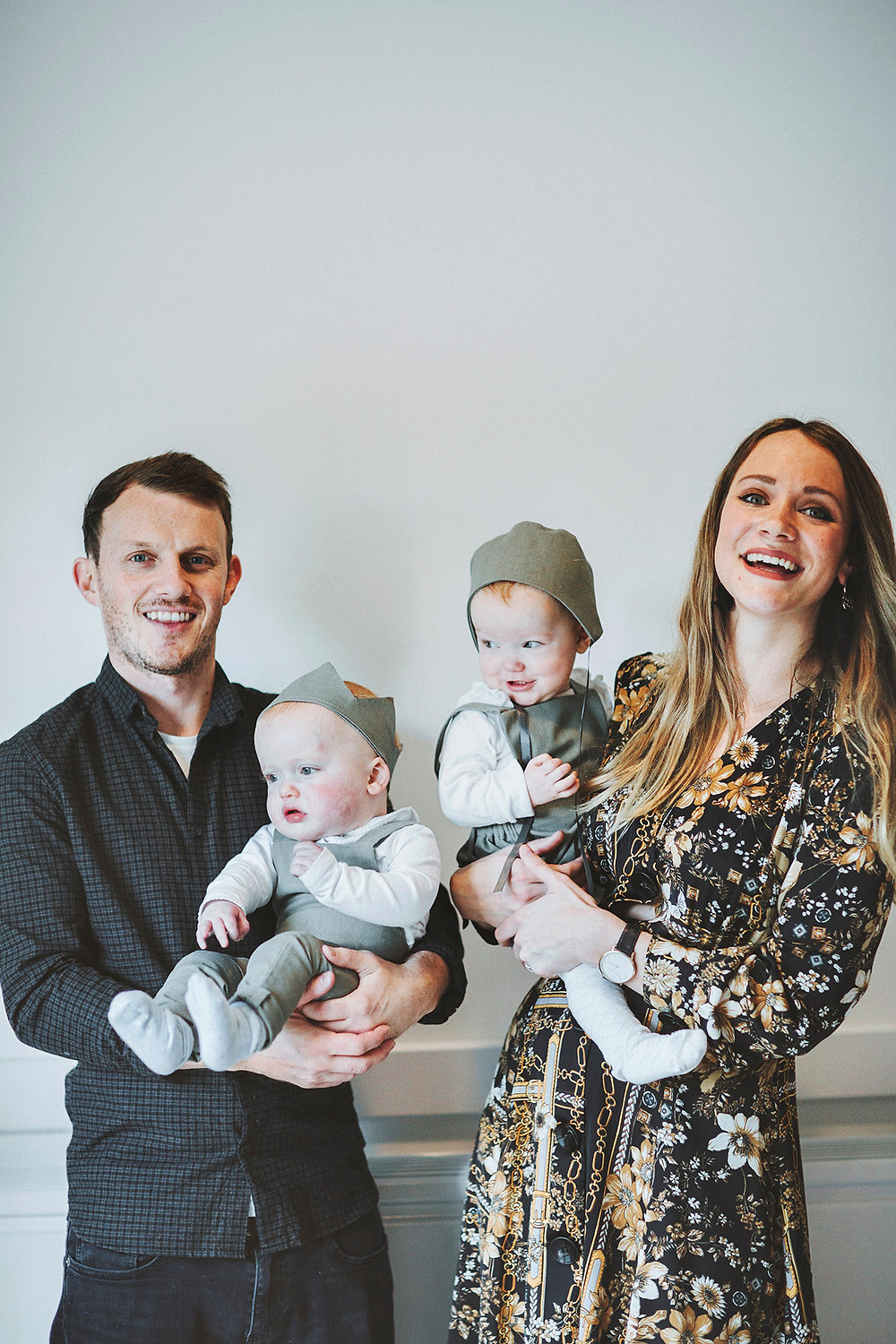 The Garden Eatery Co-founder Kate Mosley & Family