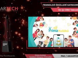 Best CRM Technology Winner : Prima Kulübü 💖