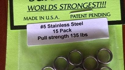 2 packets (15 per pack) Wolverine Split Rings incl postage*