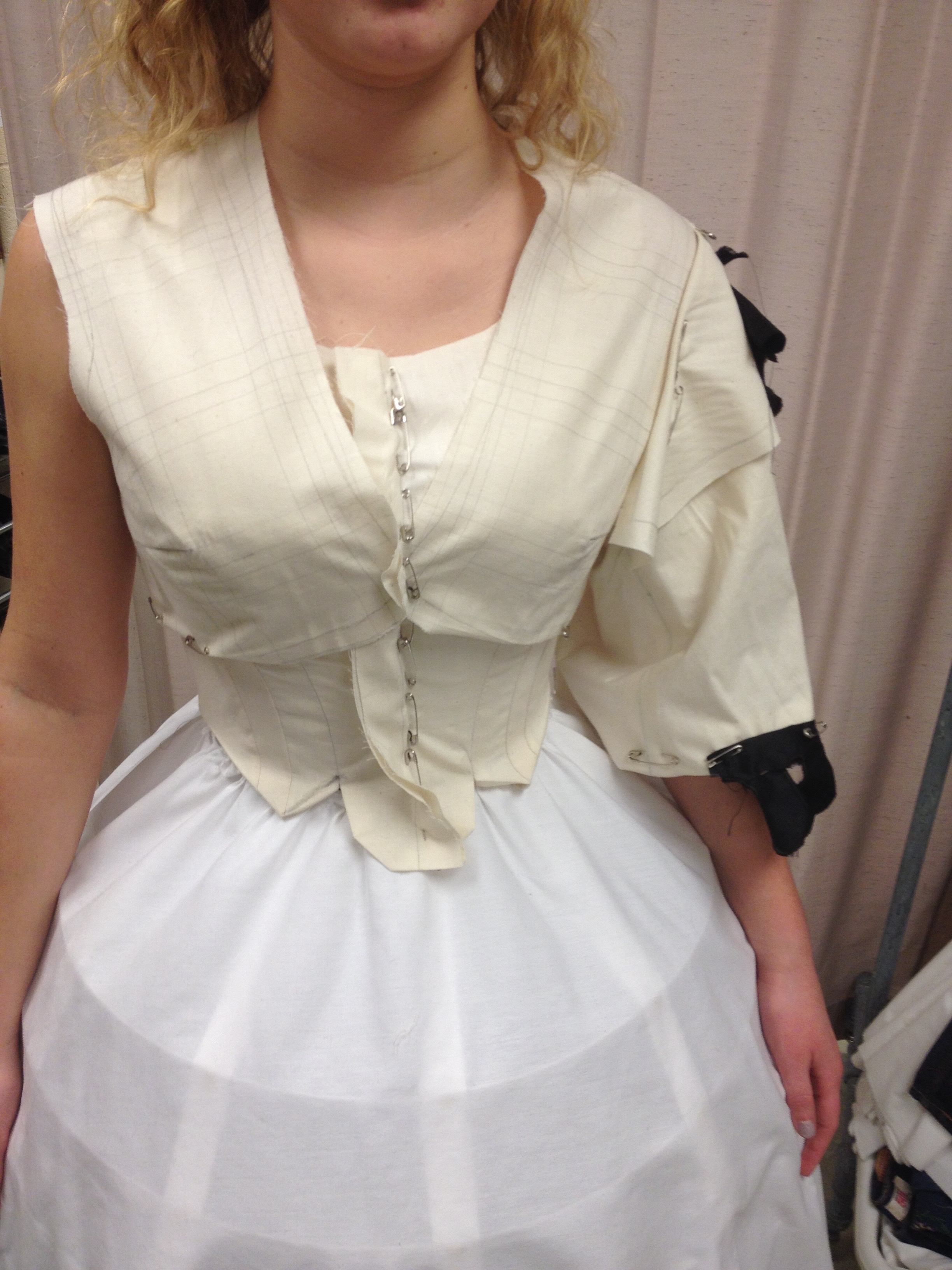 Mock-up of Bodice and Jacket