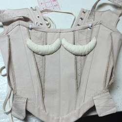 Inside of corsets